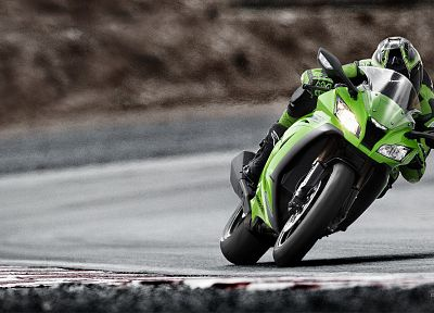 Kawasaki, vehicles, Kawasaki Ninja ZX-10R, motorbikes, motorcycles - random desktop wallpaper