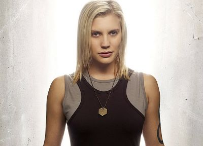 women, Battlestar Galactica, Katee Sackhoff - desktop wallpaper