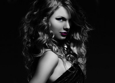 women, Taylor Swift, celebrity, singers, curly hair - random desktop wallpaper