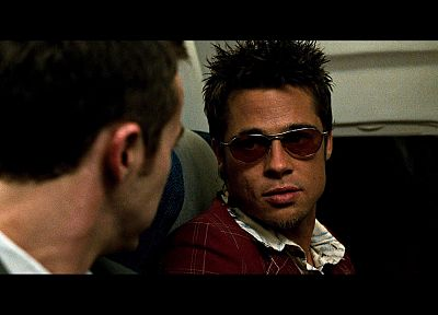 aircraft, Fight Club, Brad Pitt, Edward Norton, screenshots - random desktop wallpaper