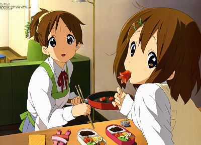 K-ON!, Hirasawa Yui, Hirasawa Ui - random desktop wallpaper