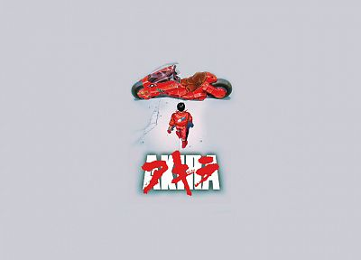 Akira, simple background - desktop wallpaper