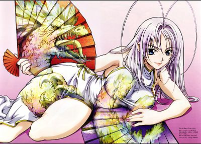 Tenjou Tenge, Natsume Aya, Chinese clothes - random desktop wallpaper
