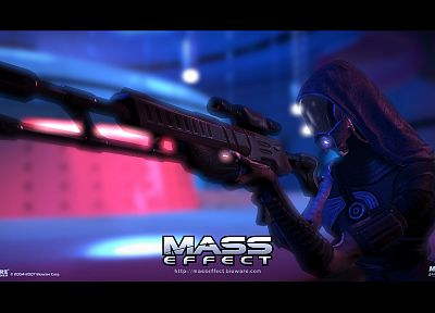 Mass Effect, BioWare, Tali Zorah nar Rayya - desktop wallpaper