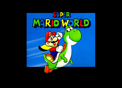 Super Mario World - random desktop wallpaper