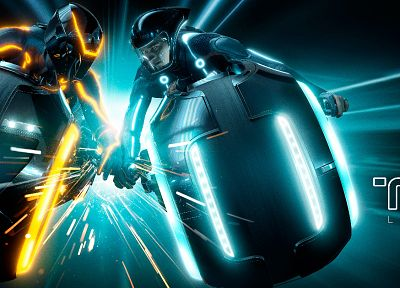 Tron Legacy, lightcycle - related desktop wallpaper