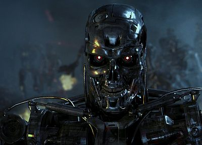 Terminator, robot, movies, mecha - related desktop wallpaper