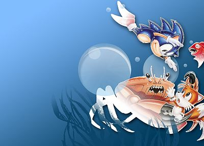 Sonic the Hedgehog, tails, alternative art - random desktop wallpaper