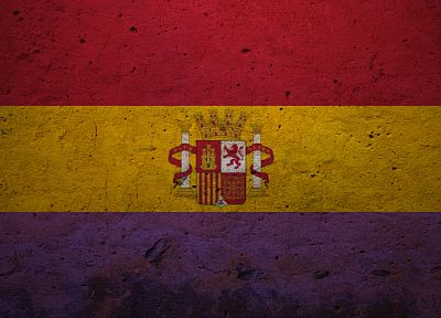flags, Spain - desktop wallpaper