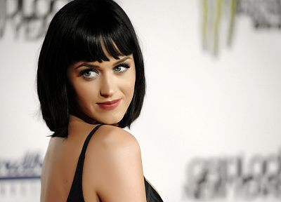 brunettes, women, Katy Perry, celebrity, singers, gray eyes, TagNotAllowedTooSubjective - random desktop wallpaper