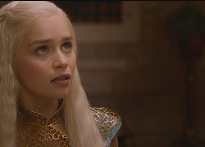 fantasy art, Game of Thrones, A Song of Ice and Fire, TV series, Emilia Clarke, Daenerys Targaryen, HBO - desktop wallpaper