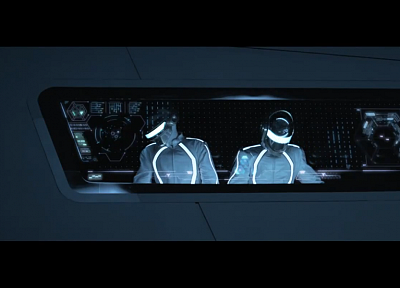 Daft Punk, Tron, Tron Legacy - related desktop wallpaper