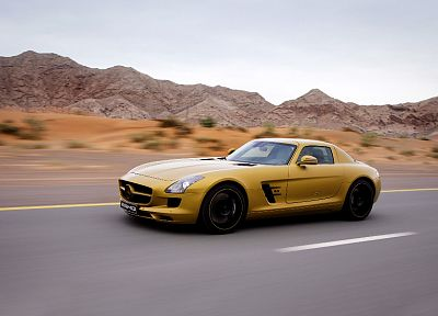 cars, AMG, vehicles, wheels, sports cars, luxury sport cars, Mercedes-Benz, Gull-wing door - related desktop wallpaper
