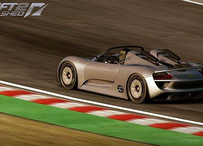 video games, cars, Porsche 918 Spyder, games, Need For Speed Shift 2: Unleashed, pc games - random desktop wallpaper