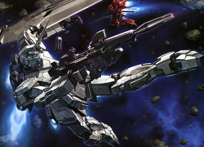 mecha, Gundam Unicorn - random desktop wallpaper