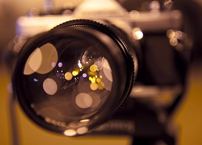 lights, lens, cameras, macro - desktop wallpaper