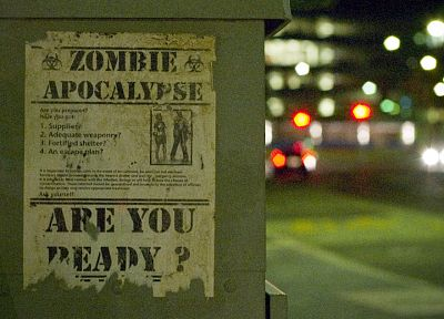 zombies, apocalypse, posters - desktop wallpaper