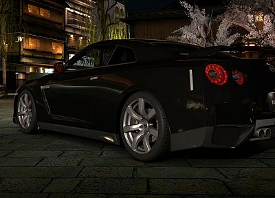 video games, cars, vehicles, Gran Turismo 5, Playstation 3, JDM Japanese domestic market, Nissan GT-R R35 - related desktop wallpaper