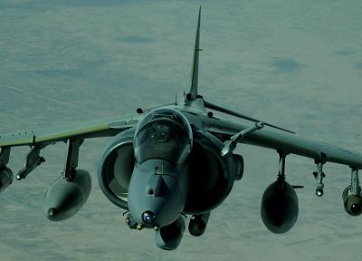 aircraft, harrier, vehicles, AV-8B Harrier - desktop wallpaper