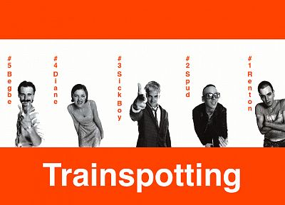 Trainspotting, Ewan Mcgregor, Robert Carlyle - random desktop wallpaper