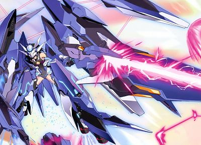 Infinite Stratos, mecha musume - random desktop wallpaper
