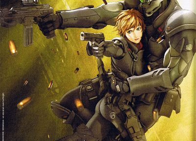 women, Appleseed, redheads, ex machina - random desktop wallpaper