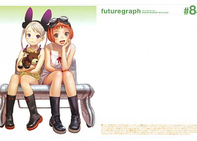 Range Murata, Last Exile, Alvis Hamilton, Futuregraph, Lavie Head, simple background - related desktop wallpaper
