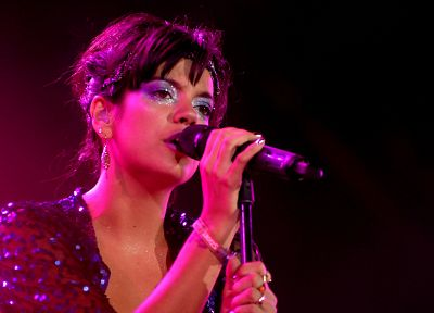 women, celebrity, Lily Allen, paradise - random desktop wallpaper