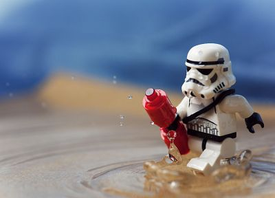 stormtroopers, Legos - related desktop wallpaper