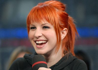 Hayley Williams, Paramore, women, music, redheads, celebrity, faces - random desktop wallpaper