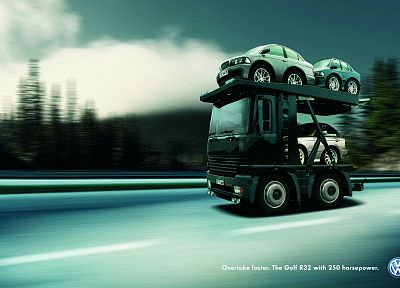 trucks, vehicles, photo manipulation - random desktop wallpaper
