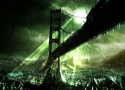 bridges, apocalypse, abandoned - related desktop wallpaper