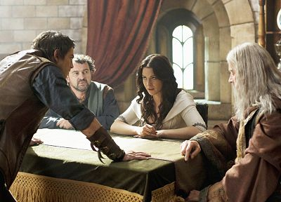 Bridget Regan, Legend Of The Seeker, Craig Horner, Kahlan Amnell, Bruce Spence, Zeddicus Zu'l Zorander, Richard Cypher - related desktop wallpaper