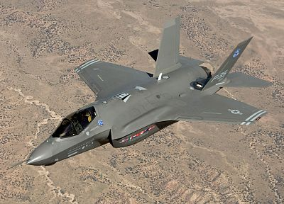 aircraft, F-35 Lightning II - desktop wallpaper