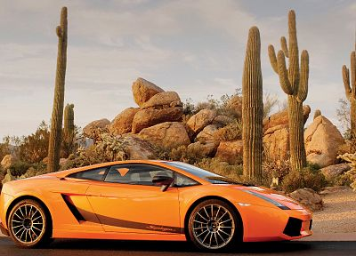 cars, orange, Lamborghini, vehicles, Lamborghini Gallardo, orange cars, italian cars - related desktop wallpaper