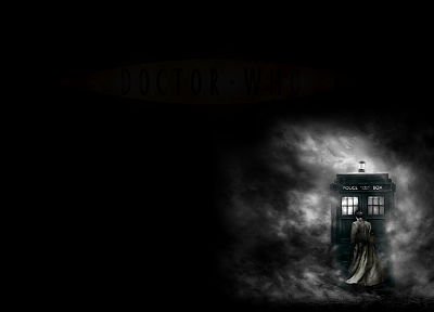 TARDIS, Doctor Who, Tenth Doctor - desktop wallpaper