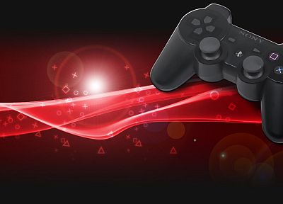 Sony, PlayStation, DualShock, gaming, controllers, Playstation 3 - random desktop wallpaper