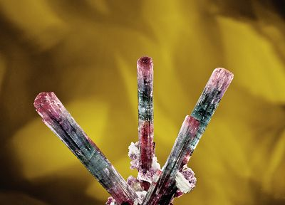 crystals, gems, minerals, tourmaline - desktop wallpaper