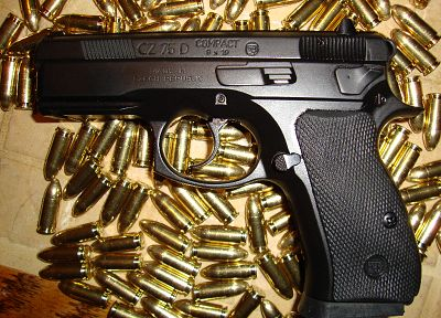 pistols, guns, hands, weapons, ammunition, handguns, CZ-75 - related desktop wallpaper