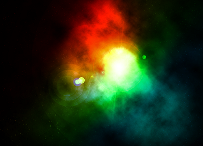 outer space, colors - random desktop wallpaper