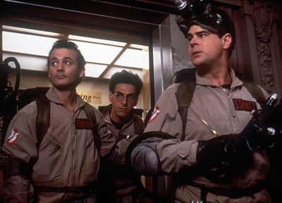 movies, Ghostbusters, Bill Murray, Dan Aykroyd, Harold Ramis - random desktop wallpaper