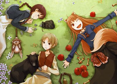 Spice and Wolf, animal ears, Holo The Wise Wolf - related desktop wallpaper