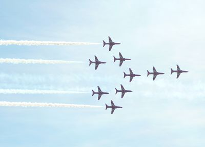 aircraft, Red Arrows, airshow - related desktop wallpaper