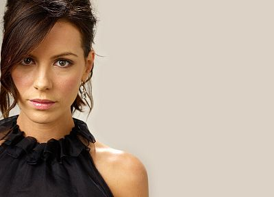 brunettes, women, Kate Beckinsale - related desktop wallpaper