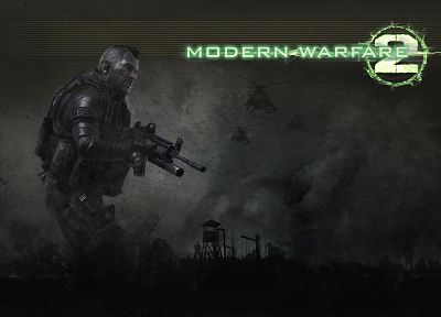 Modern Warfare 2 - desktop wallpaper