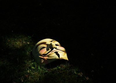 Anonymous, V for Vendetta - random desktop wallpaper