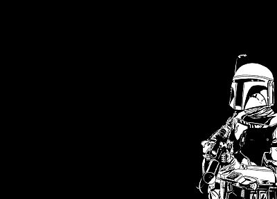 Star Wars, Boba Fett, bounty hunter - random desktop wallpaper