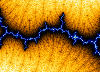 abstract, fractals, lightning - random desktop wallpaper
