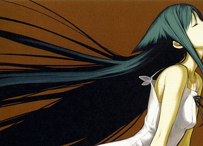 Saya no Uta, Nitroplus, simple background, Saya, light novel - random desktop wallpaper