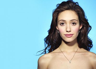 brunettes, women, actress, Emmy Rossum, faces - random desktop wallpaper